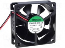 EE60201B1-000U-999 DC Вентилятор 60X20MM 12VDC