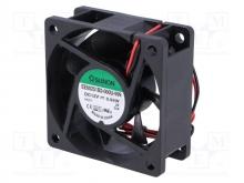 EE60251B2-000U-999 DC Вентилятор 60X25MM 12VDC