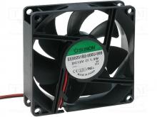 EE80251B2-000U-999 DC Вентилятор 80X25MM 12VDC