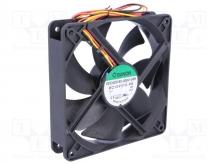 EEC0251B1-000U-G99 DC Вентилятор 120X25MM 12VDC