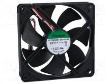 EEC0252B1-000U-F99 DC Вентилятор 120X25MM 12VDC
