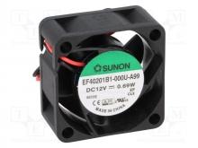 EF40201B1-000U-A99 DC Вентилятор 40X20MM 12VDC