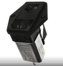 C13-4 TIER-LOCKING OUTLET | Schaffner EMC | Сетевые входные соединения Schaffner