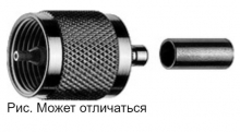 J01040A0000 | Telegartner | Обжимной штекер UHF