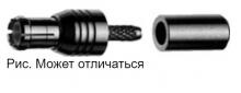J01270A0151 | Telegartner | Прямой обжимной штекер MCX