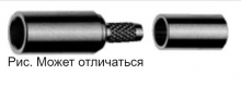 J01271A0001 | Telegartner | Обжим прямой MCX