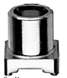 J01271A0031 | Telegartner | Гнездо MCX для печатных плат мама SMT