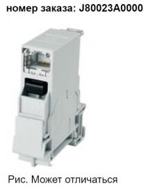 J80023A0000 | Telegartner | STX монтажная рейка, вкл. Разъем RJ45 A кат.6 A