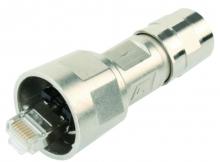 J80026A0005 | telegaertner | Штекер STX V1 RJ45 AWG24-27 Кат.6 A металлический