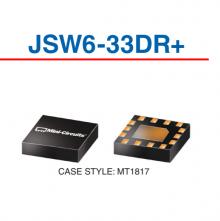 JSW6-33DR+ Переключатель 50 Ом 3GHZ