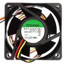 KD1205PHB1.(2).GN.C1500 DC Вентилятор 50X15MM 12VDC