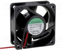 KD1206PTS3.GN DC Вентилятор 60X25MM 12VDC