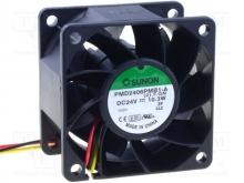 KD2405PHB2.(2).GN.C1500 DC Вентилятор 50X15MM 24VDC