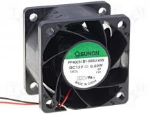 PF40281B1-000U-A99 DC Вентилятор 40X28MM 12VDC