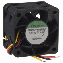 PMD1204PQB1-A.(2).GN DC Вентилятор 40X28MM 12VDC