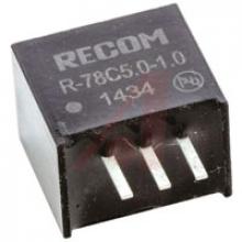 R-78C5.0-1.0 Преобразователь постоянного тока