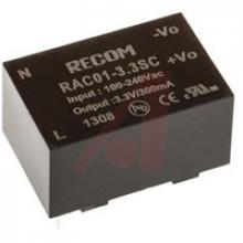 RAC01-3.3SC  | RECOM | Источник питания (AC-DC)