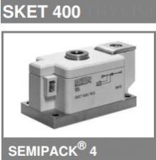 SKET400/14Е Тиристорный модуль SKET