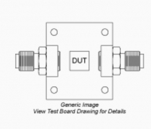 TB-851-24H+   Mini Circuits   Тестовая плата